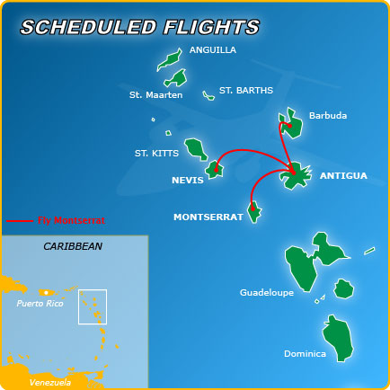 Scheduled flights